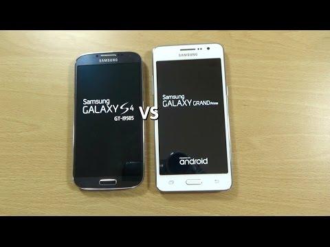 Samsung Galaxy Grand Prime VS Galaxy S4 - Speed Test!