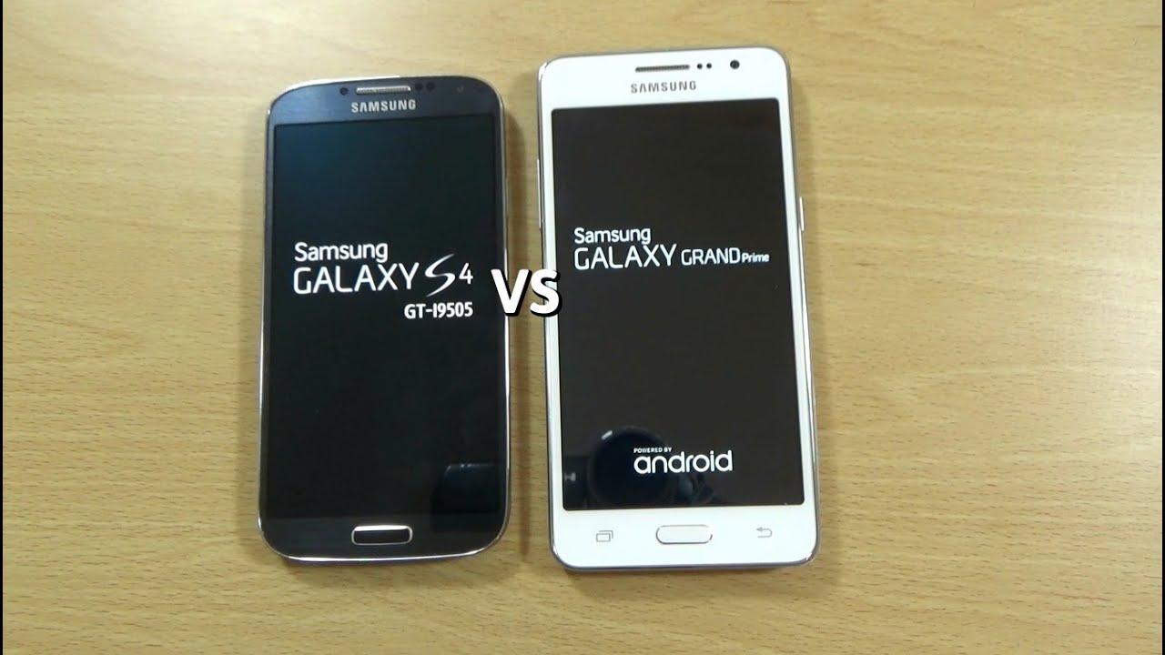 Samsung Galaxy Grand Prime VS Galaxy S4 - Speed Test ...