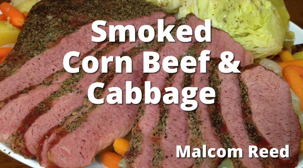Smoked Corn Beef Brisket Cabbage How To Smoke Corned Beef From