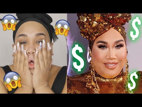 $3,000 Red Carpet Makeup Tutorial AMAs 2019 | PatrickStarrr thumbnail