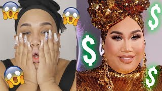$3,000 Red Carpet Makeup Tutorial AMAs 2019 | PatrickStarrr