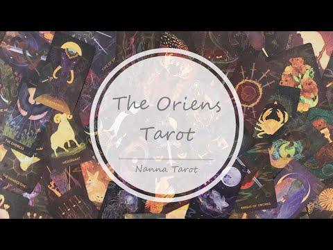 開箱  東方黎明塔羅牌 • The Oriens Tarot // Nanna Tarot