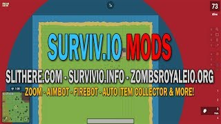 SURVIV.IO REAL FREE HACKS, CHEATS, MODS SURVIVIO UNBLOCKED 2018