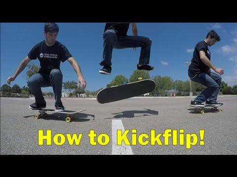 How To Kickflip! (with Hacks)
