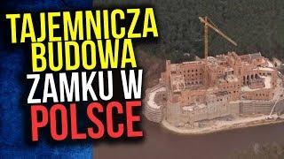 Średniowieczny Zamek Potajemnie Budowany w Środku Puszczy w Polsce - Komentator