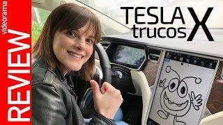 Tesla X EXTRA review -huevos de pascua y celebration mode- 🎁💃🚘