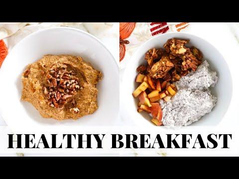 HEALTHY BREAKFAST RECIPES for fall: easy, paleo recipes