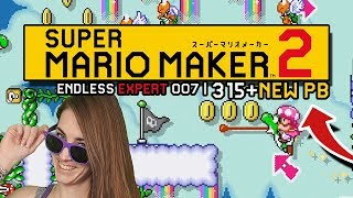 RANK UP! ENDLESS EXPERT 007 |305-315+// SUPER MARIO MAKER 2
