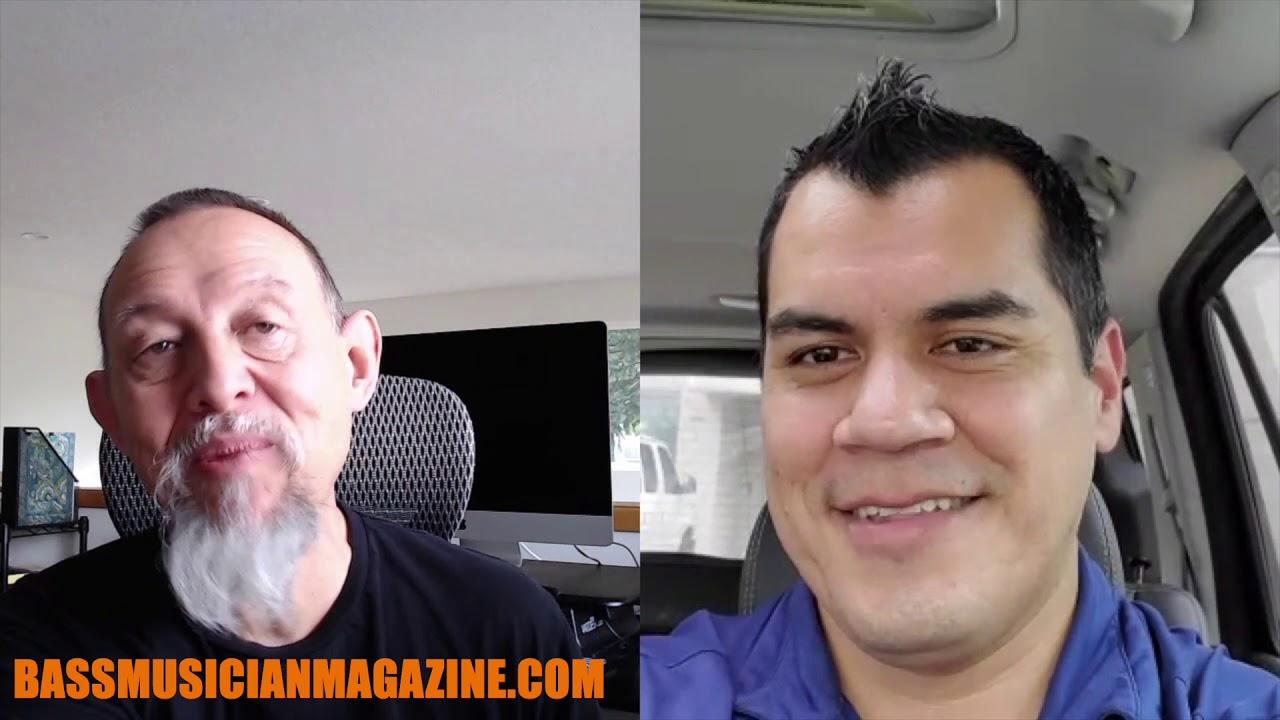 Bass Musician Magazine Interviews Jesse James - YouTube