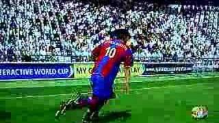 Fifa 2008 xbox 360.. Ronaldinho