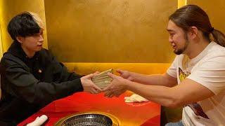 RIZIN勝者シバターに1000万円のファイトマネー渡してきました