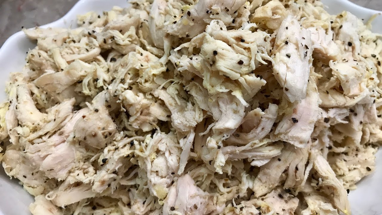 How To Boil Chicken And Shredded It