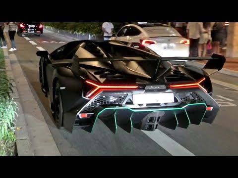 Saudi Prince Brings The BEAST, The $6.5Million Lamborghini VENENO ROADSTER!