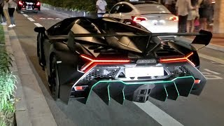 Saudi Prince FLIES OVER his $6.5Million Lamborghini VENENO ROADSTER!