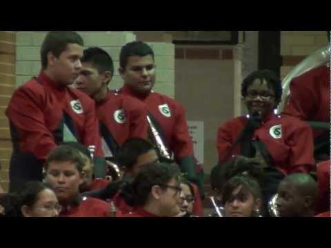 Sounds of Stadium - Cypress Springs High School Panther Marching Band 11-13-12