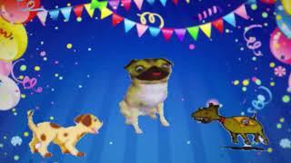 Dogs Bark Happy Birthday Youtube