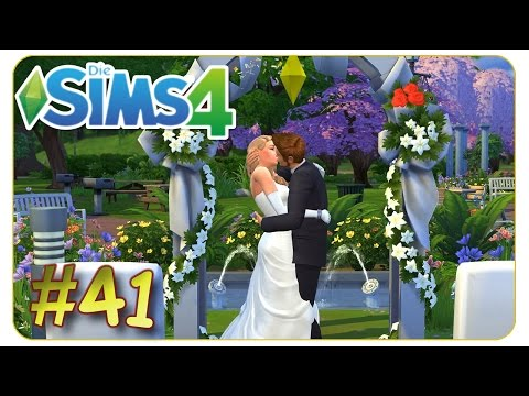 Romantische Traumhochzeit #41 Die Sims 4 - Gameplay - Let's Play