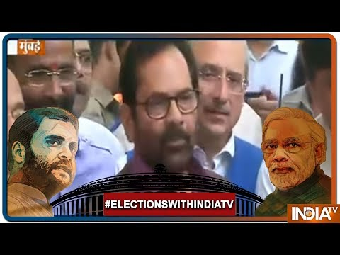 Lok Sabha Elections:  Mukhtar Abbas Naqvi to Meet EC Over Issue of Poll Related Violence in Asansol