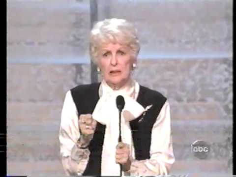 Elaine Stritch wins 2004 Emmy Award for Individual Performance in a Variety or Music Program