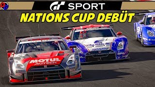 NATIONS CUP DEBÜT! | Gran Turismo Sport | Nissan GT-R Gruppe 2 @ Lago Maggiore | Let's Play GT Sport