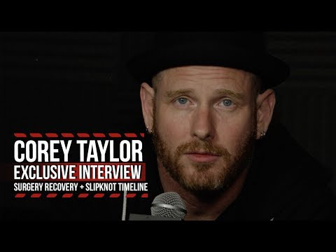 Corey Taylor Talks Recovery From Surgery + Timeline for Slipknot Return