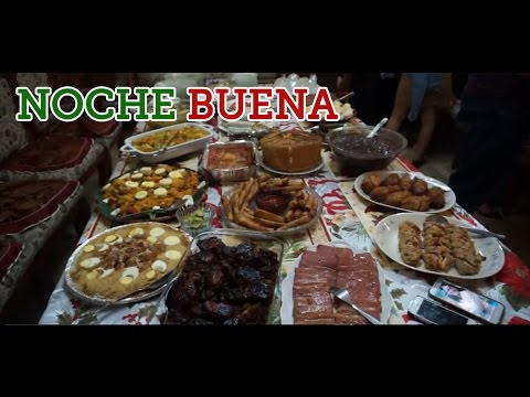 NOCHE BUENA/CHRISTMAS EVE IN THE PHILIPPINES