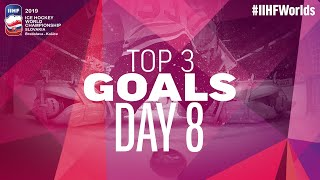 Libor Hudacek with a smooth deke to highlight the Top Goals on Day 8