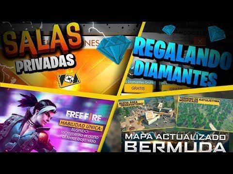 🔴 FREE FIRE  ESPERANDO NUEVA ACTUALIZACION GANA DIAMANTES Y REGALOS JUGANDO *LA DEDO MATANZA *