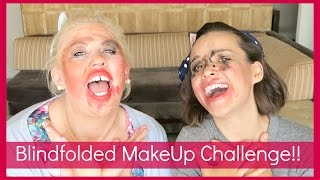 Blindfolded MakeUp Challenge with Ingrid Nilsen!