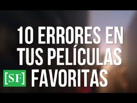 10 Errores en tus películas favoritas