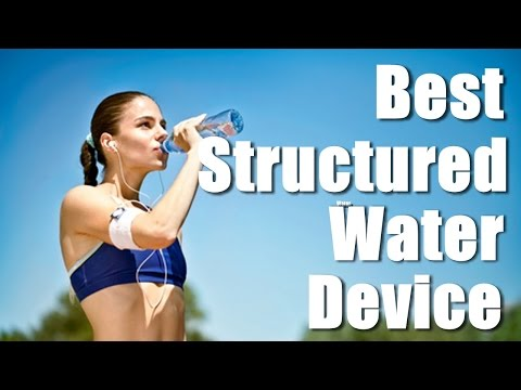 Best Structured Water Device: MRET Water (GIA iH2O)