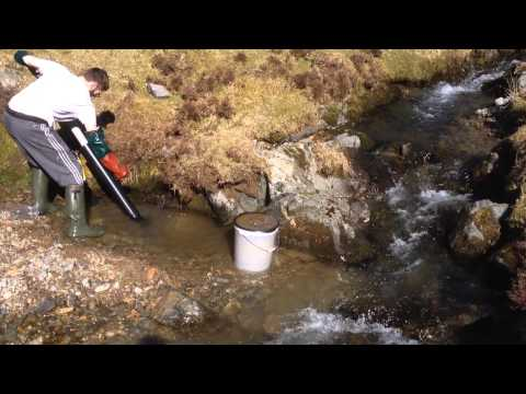 """Manual 4"""" Gold Dredge PVC Water Suction Pump Gold Prospecting Behind Bedrock"""