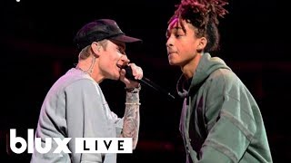 Justin Bieber - Never Say Never (Live ft. Jaden Smith)(2015)