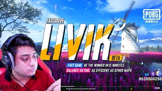 NEW UPDATE LIVIK MAP | 0.19.0 | Rs 29 Sponsor | PUBG MOBILE LIVE | Draco Games |