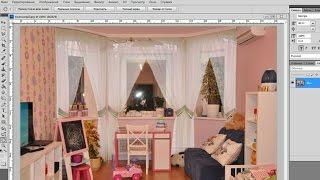 Коллаж в Фотошоп: как примерить шторы в интерьере. Эпизод 1.