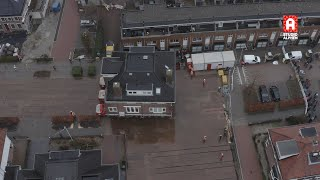 Unieke beelden verhuizing villa in Alphen aan den Rijn