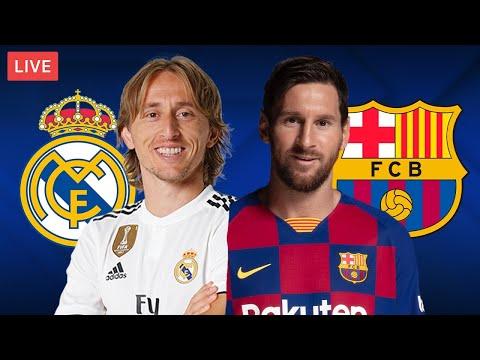 REAL MADRID vs BARCELONA - LIVE STREAMING - La Liga - Football Match