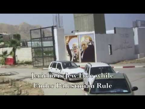JERICHO - NO JEWS ALLOWED WHILE UNDER PALESTINIAN CONTROL