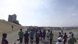 淀川 寛平マラソン2018 ー男女10キロ マラソンタオル 検索動画 29