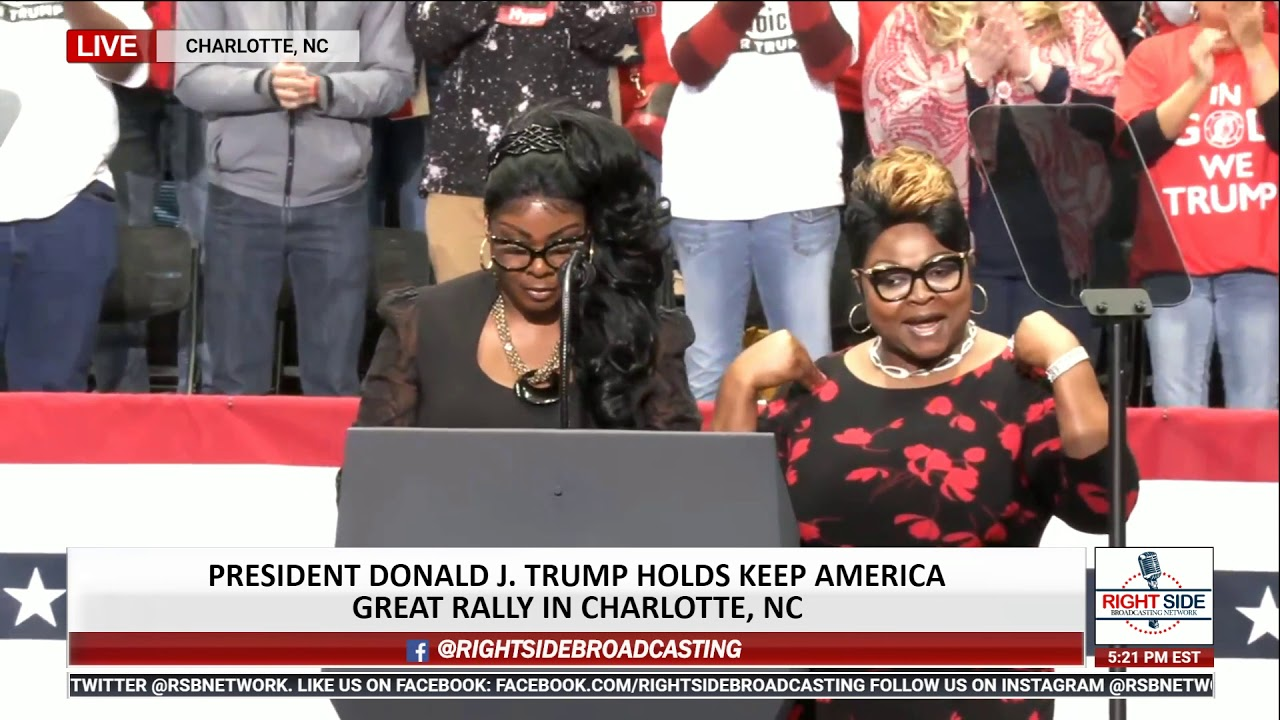 Diamond and Silk Give EXPLOSIVE Speech at Trump Rally in Charlotte 3/2/20