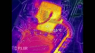 Romet K 125 Pomiar temperatury TERMOWIZJA.