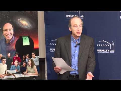 Berkeley Lab Full Press Conference re Nobelist Perlmutter