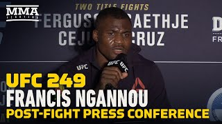 UFC 249: Francis Ngannou Post-Fight Press Conference - MMA Fighting