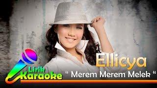 Ellicya - Merem Merem Melek - Video Lirik Karaoke Musik Dangdut Terbaru - NSTV