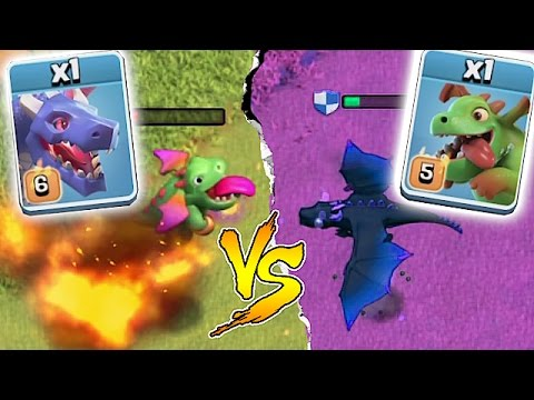 Thumbnail: WHO IS STRONGER!?!🔸DRAGON WARS EVENT!!🔸Clash Of Clans