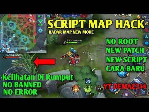 CARA HACK MAP MOBILE LEGENDS v1.3.36.3492 - New Script Patch Kadita, Tanpa Apk MOD, Semua Keliatan