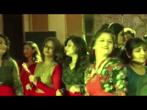 DJ DANCE BY ALL FRIENDS & FAMILIES IN  VALENTINES DAY SPECIAL 2015 - JAIPUR KARAOKE FUN CLUB