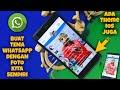 - Cara Mengubah Tema WhatsApp dengan Foto Sendiri
