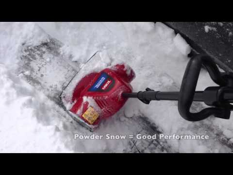 Earthwise 12 Amp Electric Snow Thrower Power Shovel Wit