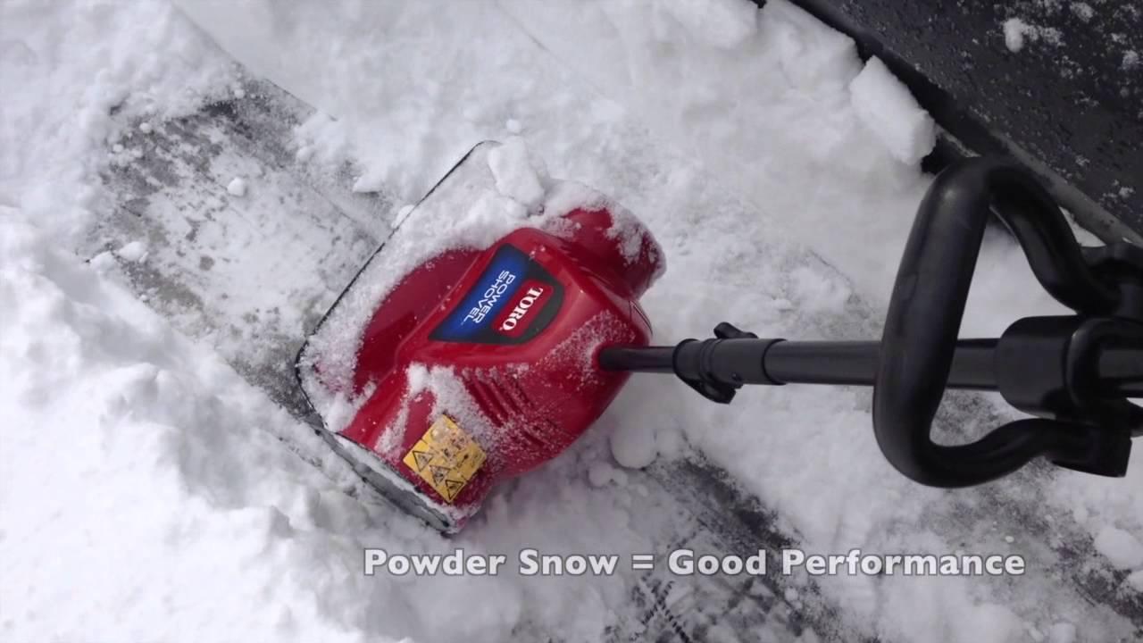 Toro Power Shovel Show Thrower Review Youtube